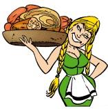 vrouw vlees