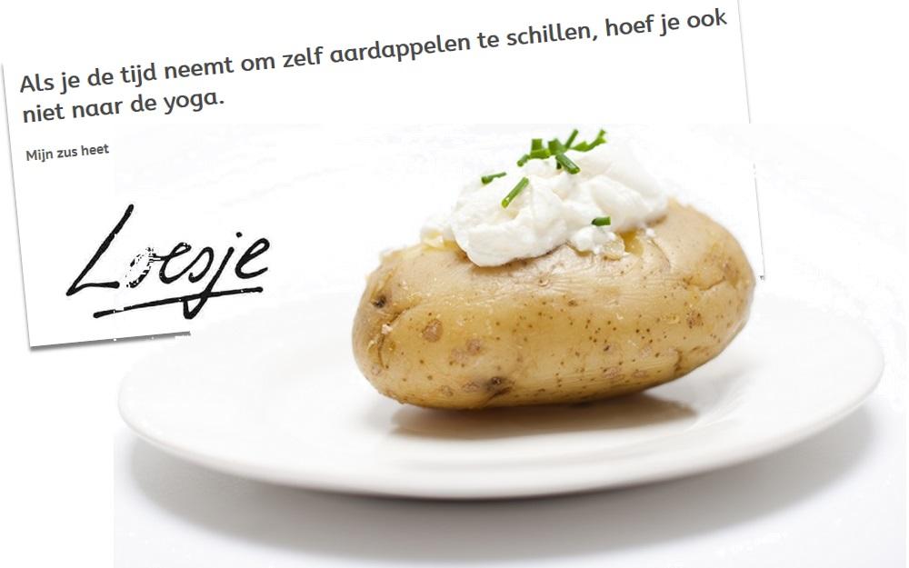 aardappel_pieper_Loesje_yoga