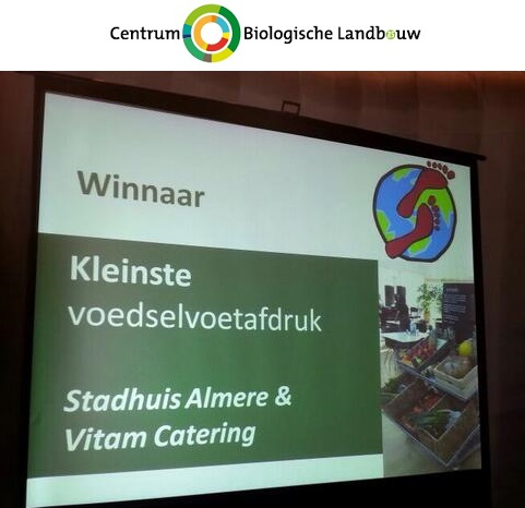 kleinste voetafdruk stadhuis Almere & Vitam Catering CBL
