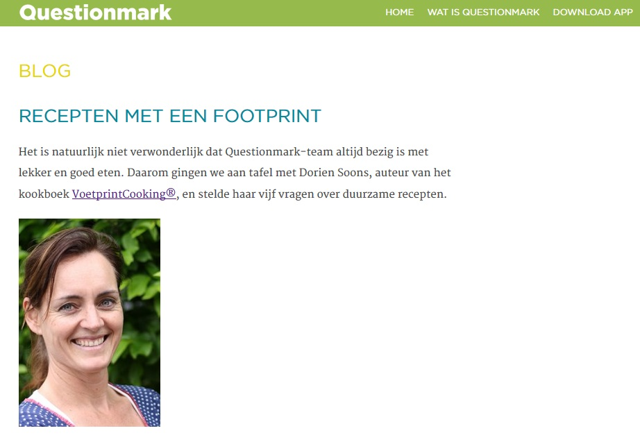 QuestionMark_BLOG_Interview VoetprintCooking